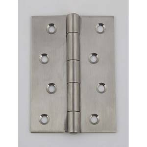 Hafele Butt Hinge - Satin Stainless Steel - 100 x 71mm - 2 Pack