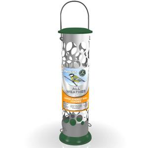Peckish All Weather Metal Energy Suet Fat Ball Bird Feeder - Large