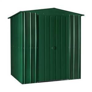 6x5ft Lotus Metal Shed Heritage Green