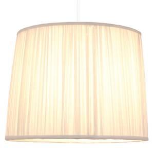 Morel Mushroom Pleat Lamp Shade - Off White