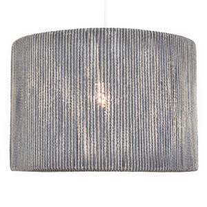 Lexi String Lamp Shade - Blue & Cream - 25cm