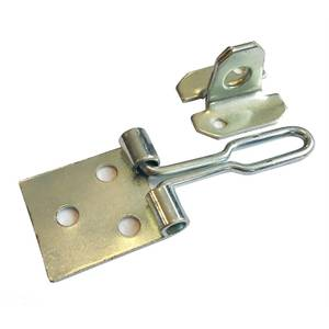 Wire Hasp & Staple - Zinc Plated - 76mm
