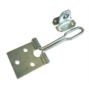 Wire Hasp & Staple - Zinc Plated - 102mm