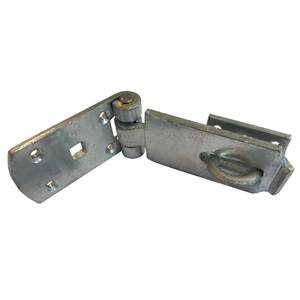 Heavy Duty Hasp & Staple - Zinc Plated - 125mm