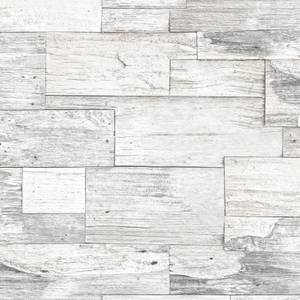 Superfresco Easy Shiplap Wood Wallpaper - Beige
