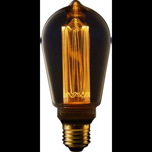 TCP LED Vintage ST64 13WEQ E27 Classic Light Bulb