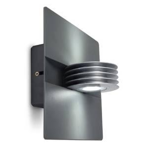 Lutec Split LED 9W LED Up/Down Wall Light - Graphite