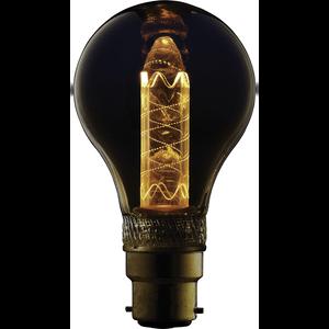 TCP LED Vintage Classic 9WEQ B22 Twist Light Bulb