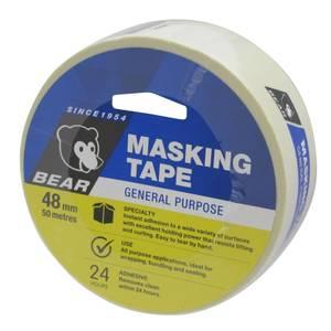 Bear 48mm x 50m General Purpose Masking Tape