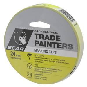 Bear 24mm x 50m Trade Painters Masking Tape