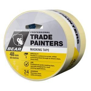 Bear 48mm x 50m Trade Painters Masking Tape