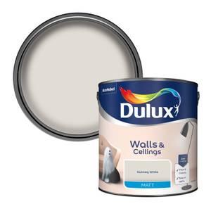 Dulux Natural Hints Nutmeg White - Matt Emulsion Paint - 2.5L