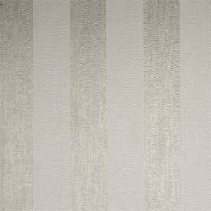 Boutique Water Silk Stripe Wallpaper - Ivory/Taupe
