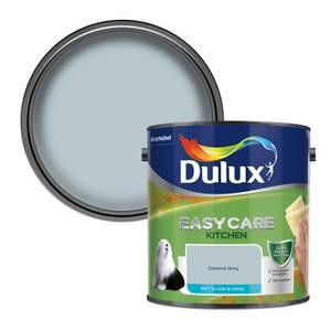 Dulux Easycare Kitchen Coastal Grey Matt Paint - 2.5L