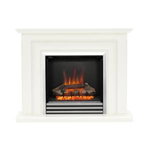 Be Modern Avensis Electric Fireplace Suite - Soft White