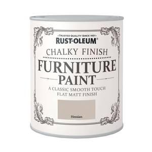 Rust-Oleum Chalky Furniture Paint - Hessian - 125ml