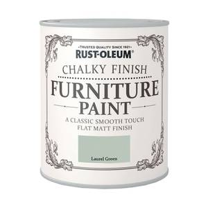 Rust-Oleum Chalky Furniture Paint - Laurel Green - 125ml