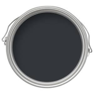 Farrow & Ball Modern Eggshell Midsheen Paint Off-Black No.57 - 2.5L