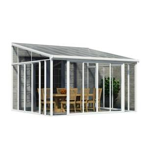 Palram SanRemo Conservatory - 4 x 4.25m - White