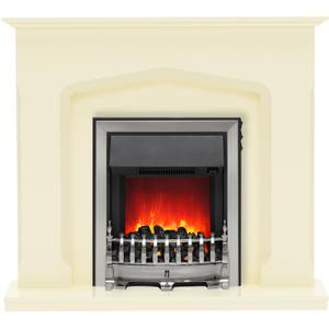 Be Modern Bramwell Electric Fireplace Suite - Marfil Marble
