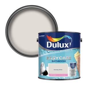Dulux Easycare Bathroom Nutmeg White Soft Sheen Paint - 2.5L