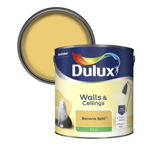 Dulux Standard Banana Split Silk Emulsion Paint - 2.5L