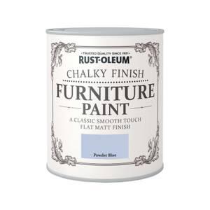 Rust-Oleum Chalky Furniture Paint - Powder Blue - 125ml