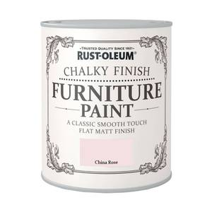 Rust-Oleum Chalky Furniture Paint - China Rose - 125ml