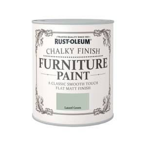 Rust-Oleum Chalky Furniture Paint - Laurel Green - 750ml