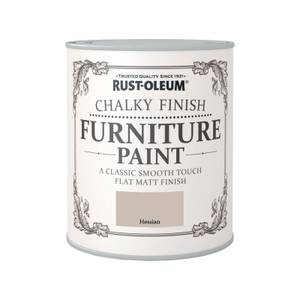 Rust-Oleum Chalky Furniture Paint - Hessian - 750ml