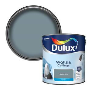 Dulux Standard Denim Drift Matt Emulsion Paint - 2.5L