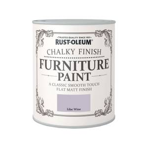 Rust-Oleum Chalky Furniture Paint - Lilac Wine - 750ml
