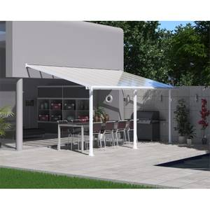 Palram Olympia Garden Patio Awning - 3 x 5.46m - White