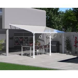 Palram Olympia Garden Patio Awning - 3 x 8.51m - White