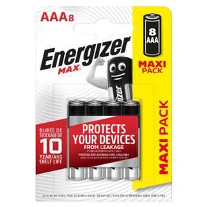 Energizer MAX Alkaline AAA Batteries - 8 Pack