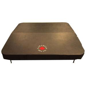 Canadian Spa Company Brown Spa Cover - 84 x 84in