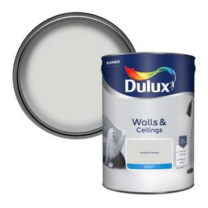 Dulux Standard Polished Pebble Matt Emulsion Paint - 5L