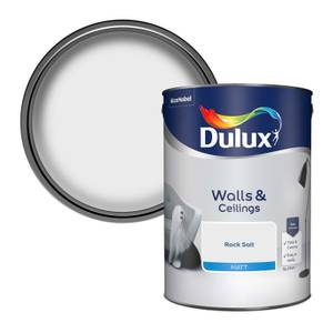Dulux Standard Rock Salt Matt Emulsion Paint - 5L