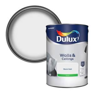 Dulux Standard Rock Salt Silk Emulsion Paint - 5L