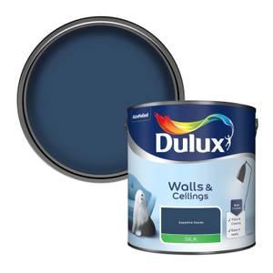 Dulux Standard Sapphire Salute Silk Emulsion Paint - 2.5L