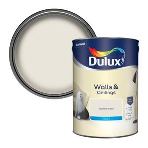 Dulux Standard Summer Linen Matt Emulsion Paint - 5L