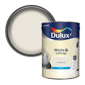 Dulux Standard Summer Linen Matt Emulsion Paint - 5L