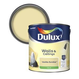 Dulux Standard Vanilla Sundae Silk Emulsion Paint - 2.5L