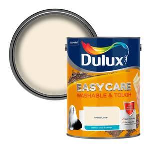 Dulux Easycare Washable & Tough Ivory Lace Matt Paint - 5L