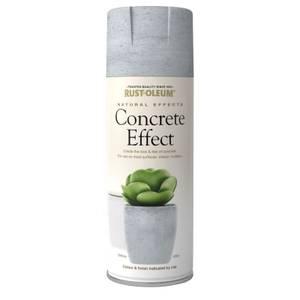 Rust-Oleum Spray Paint Concrete Effect  - 400ml