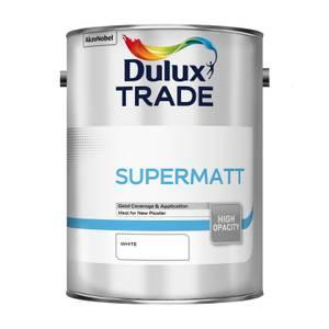 Dulux Trade Supermatt White - 5L