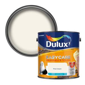 Dulux Easycare Washable & Tough Fine Cream Matt Paint - 2.5L