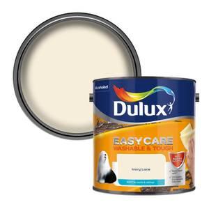 Dulux Easycare Washable & Tough Ivory Lace Matt Paint - 2.5L