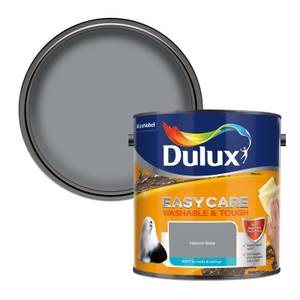 Dulux Easycare Washable & Tough Natural Slate Matt Paint - 2.5L