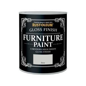 Rust-Oleum Gloss Furniture Paint - Dove - 750ml